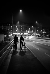 November night (gato-gato-gato) Tags: street leica november winter bw white black blanco digital person 50mm schweiz switzerland abend flickr suisse f14 strasse zurich negro hard streetphotography pedestrian rangefinder human zrich escher svizzera weiss zuerich manualfocus asph schwarz dunkel onthestreets passant m9 zri mensch langstrasse kreis5 zurigo werd kreis4 fussgnger manualmode zueri industriequartier aussersihl wyss summiluxm strase gewerbeschule kreischeib manuellerfokus gatogatogato leicasummiluxm50mmf14asph fusgnger leicam9 gatogatogatoch wwwgatogatogatoch