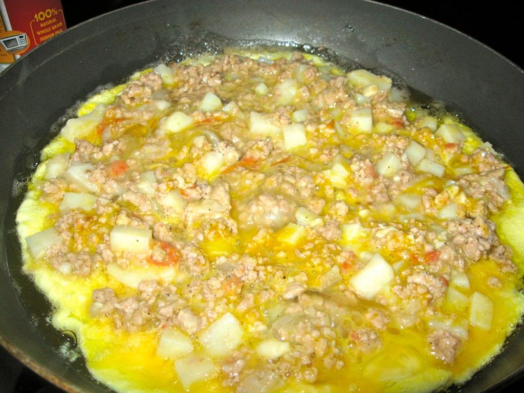 Cooking Filipino torta