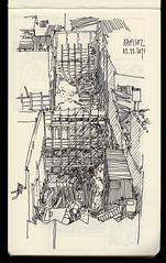Terceiro Subsolo (daniloz) Tags: moleskine desenho caderno croquis vilamadalena zarvos daniloz