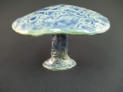 100_1623 (clevercrow) Tags: mushroom ceramics handmade glaze clay pottery handcrafted etsy handbuilt