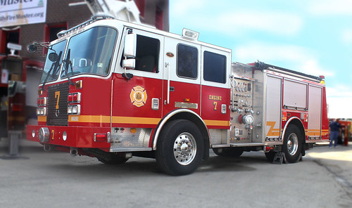 Philadelphia Fire Department -- 2011 KME Engine by Lou Angeli Digital