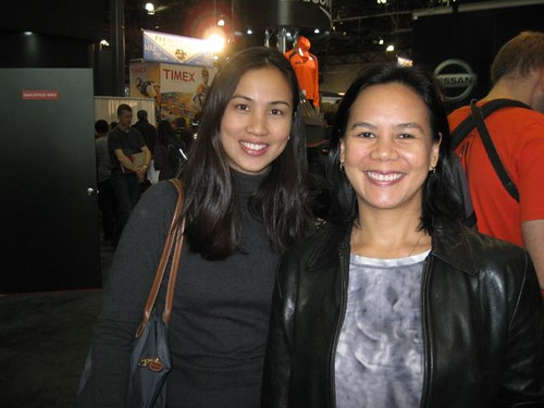 Meeting other Pinoy NYC runners at the expo