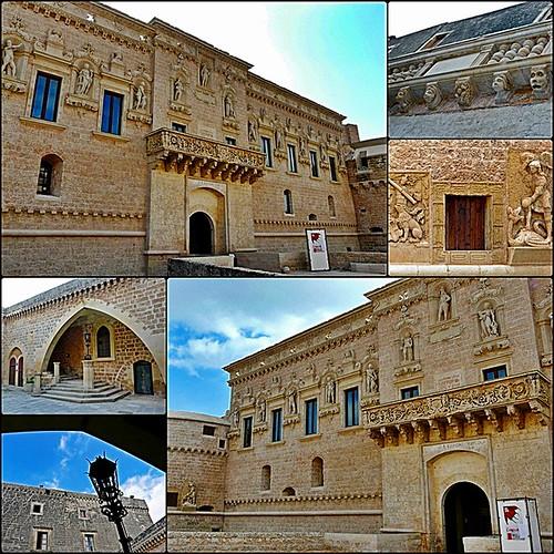 castle stones pietre mura castello salento medioevo... (Photo: *Blunight 72* on Flickr)