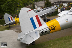 G-BTWF - WK549 - C1 0564 - Private - De Havilland DHC-1 Chipmunk 22 - Panshanger - 110522 - Steven Gray - IMG_3975