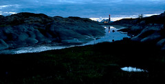 The magic blue hour after sunset (Ebba T. Jenssen) Tags: lighthouse night nordnorge ebba nordland hamsun jenssen northernnorway tranøy hamarøy tranøyfyr