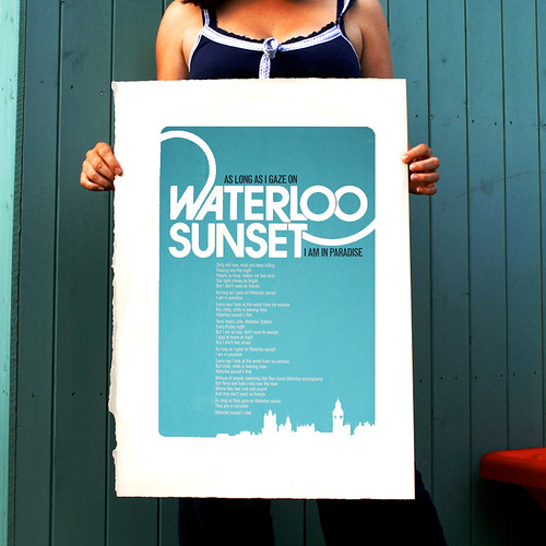 Waterloo hand pulled print