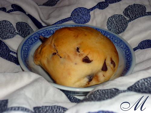 Panini dolci con la macchina del pane