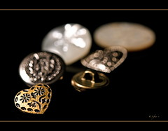 ... (S_Freer) Tags: white silver gold nikon buttons brass connections d7000 {sfreer} ourdailychallenge