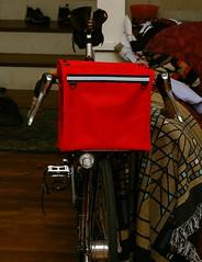 porteur-randonneur bag (front view)