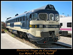 Estrella del dia (Powell 333) Tags: madrid las 2 espaa train canon t tren trenes s