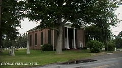 Brick Church in Rockland County, New York (Amazing Diet Guru) Tags: st newyorkstate famousgraves historicplaces danbeard dutchchurches dutchbuildings georgevreelandhill brickchurchcemeterywesthempsteadny picturesofgeorgevreelandhill brickchurchrocklandcountynewyork