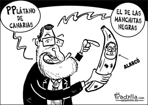 Padylla_2011_11_10_Rajoy promociona el plátano de Canarias