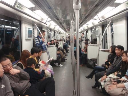 szanghaj metro