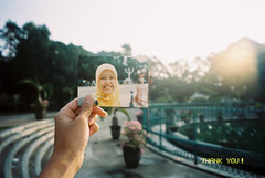 Nice to Meet You (amrrr) Tags: sunrise canon 1 you luna thank 100 caption dnp pimpim 111111 alun centuria autoboy