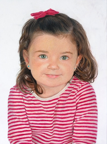 Color Portrait Drawings Color Pencil Portrait