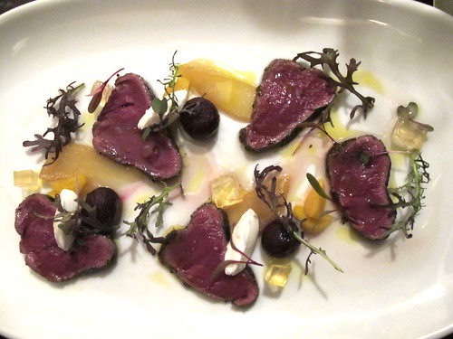 Carpaccio of venison