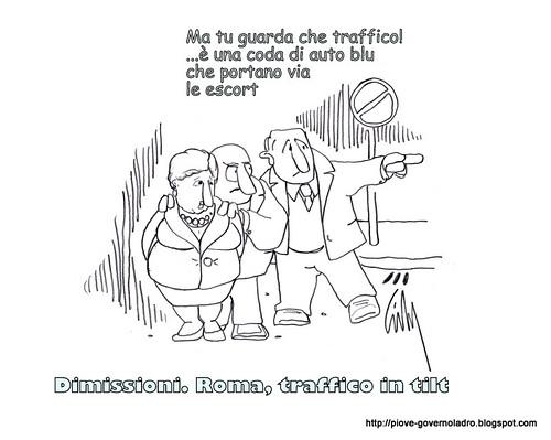Dimissioni, traffico in tilt by Livio Bonino