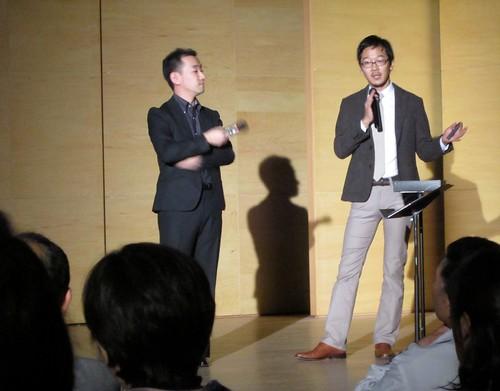 川瀬氏と益田氏のトーク/スペイン 2011年11月12日 by Poran111