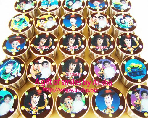 Birthday Cupcake Edible Image Toys Story