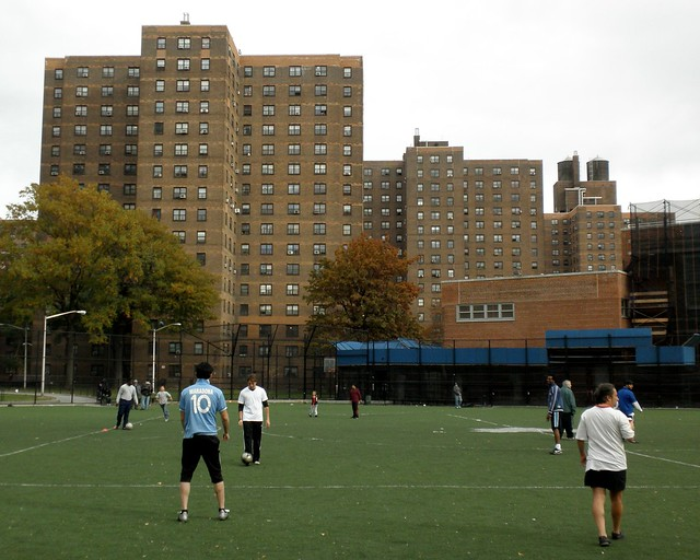 Wagner Playground, East Harlem, New York City