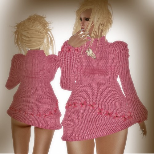 A&A Fashion Sweater/Dress Rosse