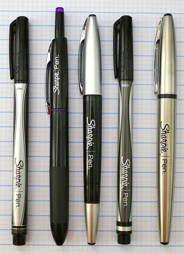 Sharpie Pen Family Photo