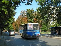 Ikarus 211.51 Busz Rusze Bulgria   211.51  2008 . (Balkanton) Tags: street bus nature sign logo design hungary communist communism bulgaria socialist magyar signboard socialism hungarian magyarorszg ikarus           npkztrsasg