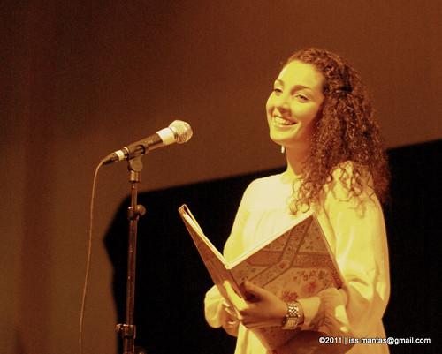 Nassima @ Open Xpressions 9th Nov 2011
