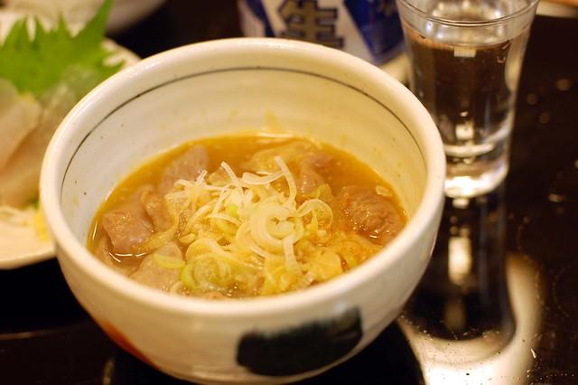 まちの駅 新・鹿沼宿にある大越路のモツ煮旨い!500円!けっこうモツたっぷり!