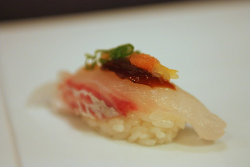 Tai (Black Seabream with Ponzu Jelly)