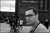 George. (MDMA.) Tags: blackandwhite film liverpool 35mm olympus fujifilm 100 analogue om2 albertdock acros