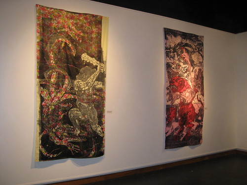 "Installation Shot  of My Exhibition, ""Trials & Tributaries"""