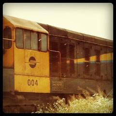 Trains run nonetheless