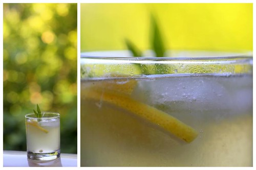 limonata w/ lemon verbena syrup