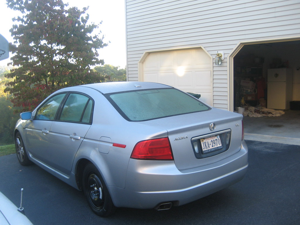 2004 Acura TL with spare tire (10-12-2008)