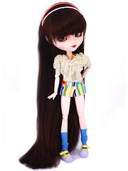 lovely (foxifaeri) Tags: fashion doll handmade top clothes bjd pullip shorts blanche couture thefoxishop