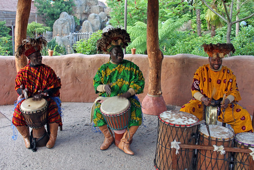 Drummers at Disney's Dine Under the African Stars