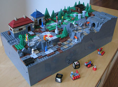 Advanced Heroica Hilltop 001 (cjedwards47) Tags: dice game lego rules custom heroica moc