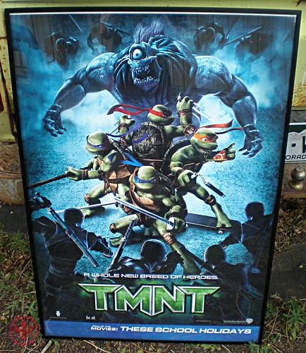 """ TMNT "" AUSTRALIAN teaser poster { TMNT v. SPITEX & Foot  } i (( 2007 ))"