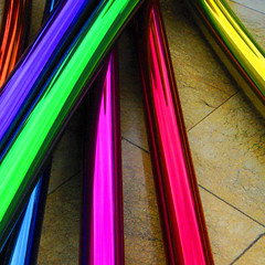 Guggenheim museum, Bilbao (Sallyrango) Tags: detail art colors museum spain colours vibrant bilbao guggenheim