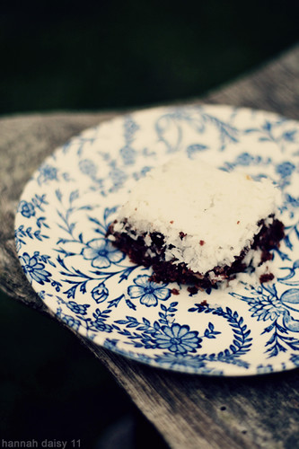 Vegan Bounty Brownie