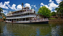 Liberty Belle Riverboat (Don Sullivan) Tags: world sky clouds square liberty magic kingdom disney riverboat belle waltdisneyworld walt magickingdom libertysquare libertybelle ef1635mmf28liiusm canoneos5dmarkii