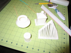 Locomotive Cake (Making the Parts) (RDPJCakes) Tags: 3d fondant traincake sculptedcake ossas rdpjcakes locomotivecake
