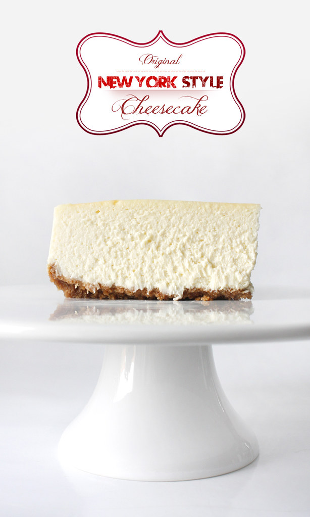 The Best Original New York Style Cheesecake!