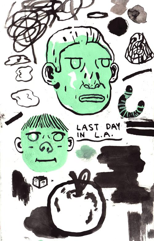 Last day in L.A