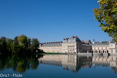 Chteau de Fontainebleau (Oric1) Tags: sun france reflection water seine automne de eau ile reflet chateau et 77 fontainebleau marne oric1