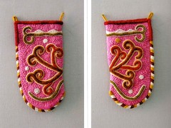 One of Istvan's beautiful and decorative bags