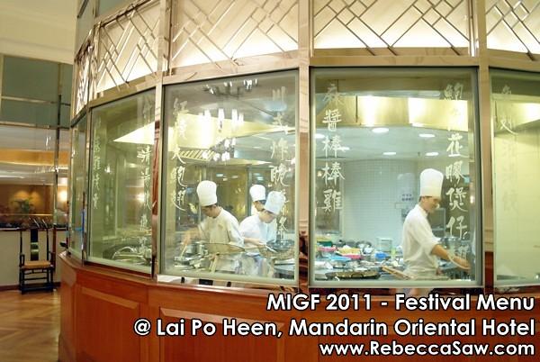 MIGF 2011 - Lai Po Heen, Mandarin Oriental-4