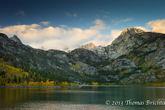 Lake Sabrina (tom911r7) Tags: california leica morning mountains fall water colors thomas canyon sierra cw eastern bishop s2 395 easternsierra 2011 brichta tom911r7 thomasbrichta bishopcanyon cw3952011