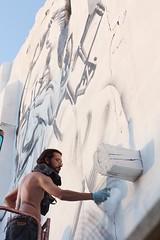 El Mac at Avant Garde Urbano 2011 (ana alvarez-errecalde) Tags: street art festival spain mac stencil buenos aires blu walk run el jorge urbano filippo avant garde minelli rodriguez castel ruiz dont tudela ilargi gerada suso33 mosiq